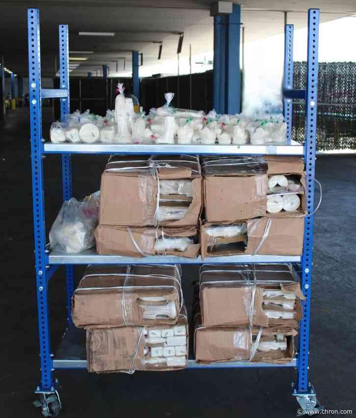 More than $11M in meth seized at World Trade Bridge