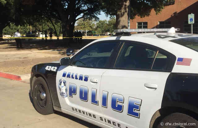 Dallas Police Officer Recovers After Flipping His Squad Car