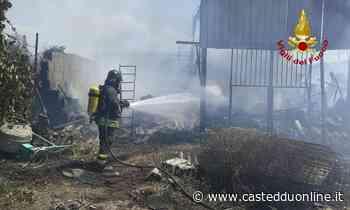 Maxi incendio a Selargius, in cenere auto e cespugli: fiamme vicinissime ad alcune bombole - Casteddu on Line