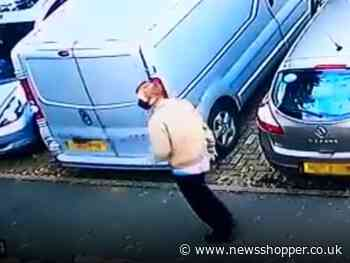 CCTV released of Orpington burglar discovered by 83-year-old