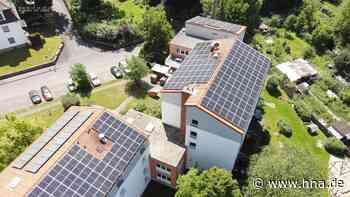 Wohnanlage Am Sande in Witzenhausen: Der Strom kommt jetzt vom Dach - HNA.de