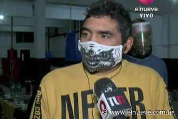 Jorge Locomotora Castro convirtió su gimnasio en un comedor en Temperley - Noticias, TL9 Noticias (Clips) - telenueve