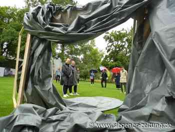 Urban Art Festival Siegen im Schlosspark: Skulpturen, Videos, Fotos, Klänge - Siegener Zeitung