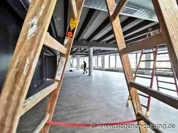 Platz für 1350 Studierende: Uni: Karstadt-Komplex vor Fertigstellung - Siegener Zeitung