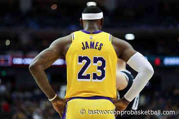 NBA Disney Contenders or Pretenders: Los Angeles Lakers - Last Word on Pro Basketball