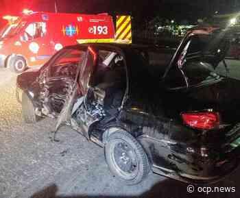 Acidente entre dois veículos é registrado na BR-280, em Guaramirim - OCP News