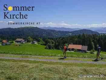 Pilgern mit der Sommerkirche - Von Scheidegg nach Bregenz - VOL.AT - Vorarlberg Online