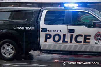 Cyclist taken to hospital after collision in downtown Victoria intersection - Victoria News
