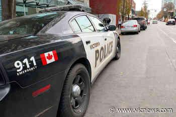 Victoria police vehicle involved in crash – Victoria News - Victoria News