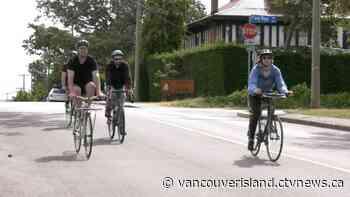 'We're not changing the design': Victoria, Oak Bay in dispute over bike lane plan - CTV News VI