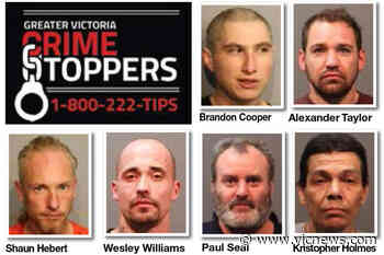 Greater Victoria Crime Stoppers wanted list for the week of July 7 - Victoria News