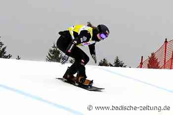 Jana Fischer bangt um ihr Weltcup-Heimspiel am Feldberg - Snowboard - Badische Zeitung