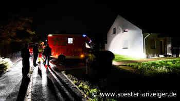 Ense: Großer Polizei-Einsatz: SEK hinzugerufen - Mann überwältigt - Soester Anzeiger