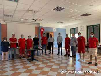 Il presidente della Croce Rossa Piemonte in visita a Trecate - Ticino Notizie