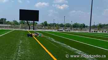 Artificial Turf Being Installed at St. Clair College's New Sports Park - AM800 (iHeartRadio)