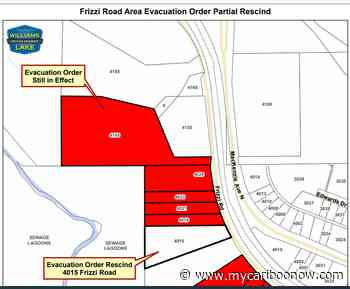 Evacuation Order For Second Property On Frizzi Road In Williams Lake Lifted - mycariboonow.com