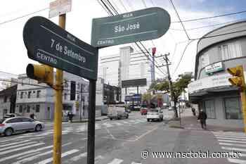 Ruas centrais e atalhos do trânsito de Blumenau receberão asfalto novo - NSC Total