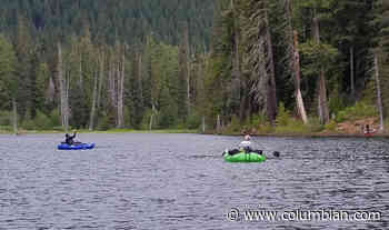Well-stocked Goose Lake has been a hot spot for trout anglers - The Columbian