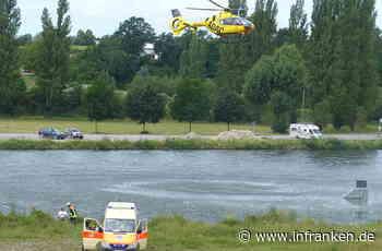 Volkach: Hilflose Person im Main? Rettungskräfte suchen mit Großaufgebot Fluss ab