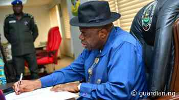 Bayelsa plans urban renewal projects in Yenagoa, others - Guardian