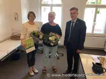 Finsterwalde begrüßte zwei neue Allgemeinärztinnen - NIEDERLAUSITZ aktuell