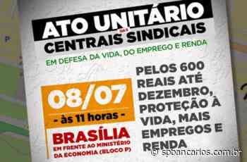 Ato virtual leva reivindicações a Brasilia - Sindicato dos Bancários SP