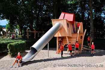 Staufen hat einen neuen Spielplatz – der von einem Goethe-Zitat inspiriert wurde - Staufen - Badische Zeitung