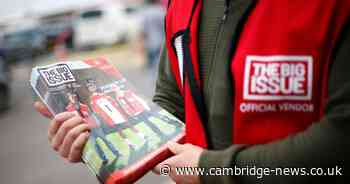 Big Issue seller says 'lockdown was harder than being homeless'