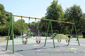 Council begins the reopening of Warrington's playgrounds