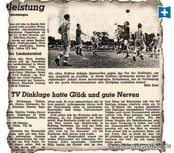 Fußball: 1950 kämpfen der TuS Einswarden und der TV Dinklage um den Verbandsklassen-Aufstieg - Nordwest-Zeitung