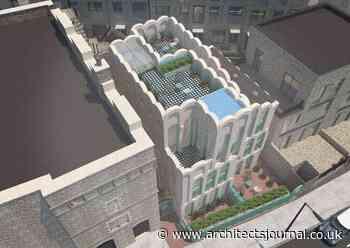 Green light for Peter Morris's 'fairytale' Camden Cloud House - Architects Journal