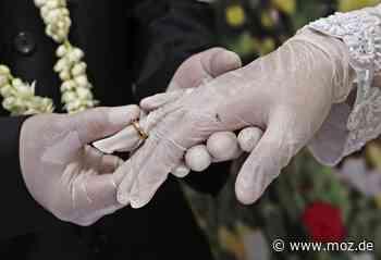 Eheschließungen: Corona als Hochzeitskiller in Schwedt - Märkische Onlinezeitung