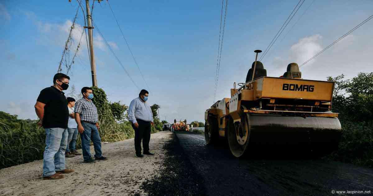 Construyen la carretera Tierra Blanca-Frijolillo - La Opinión
