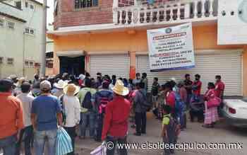 Campesinos toman instalaciones de la Fiscalía en Tierra Blanca para exigir los cuerpos de tres pobladores asesinados - El Sol de Acapulco