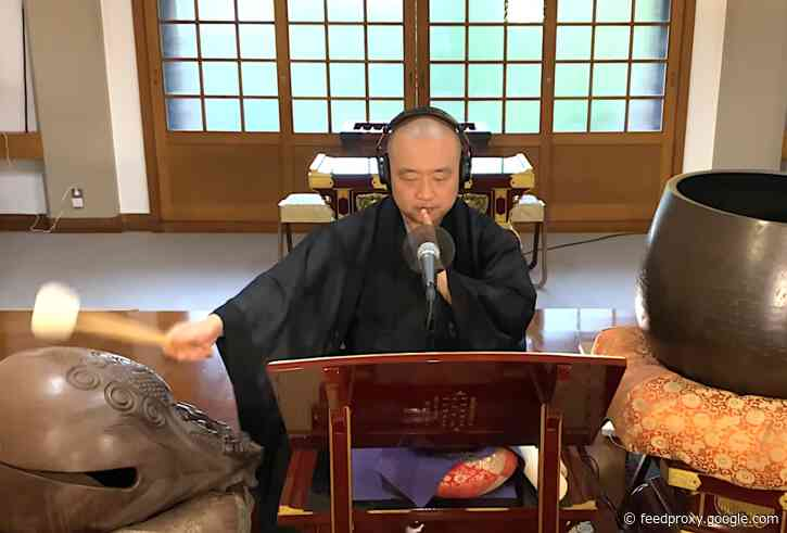 """Buddhist Monk Covers Judas Priest's """"Breaking the Law,"""" Then Breaks Into Meditation"""