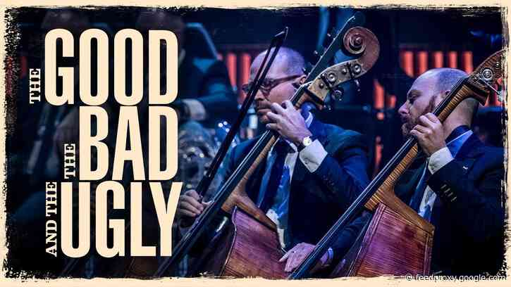 """The Film Music of Ennio Morricone (RIP) Beautifully Performed by the Danish National Symphony Orchestra Play: """"The Good, the Bad, and the Ugly"""" & Much More"""