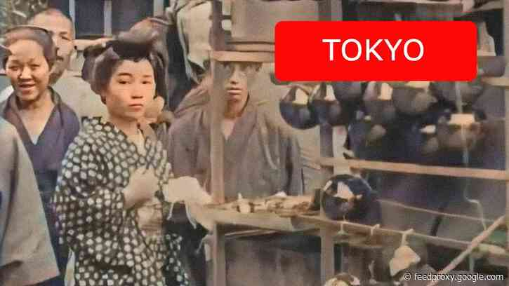 Watch Vintage Footage of Tokyo, Circa 1910, Get Brought to Life with Artificial Intelligence