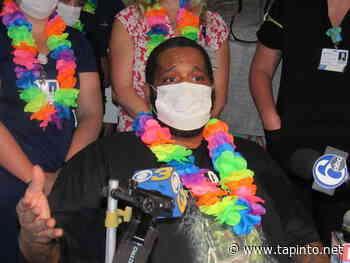 Camden Coronavirus Survivor Leaves Virtua Hospital After Over 2 Months - TAPinto.net