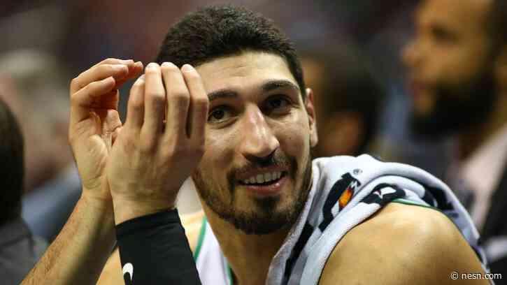 Celtics' Enes Kanter Praises Food Options In NBA Orlando Bubble