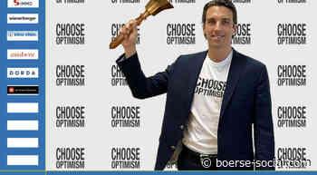 Stefan Neubauer läutet die Opening Bell für Donnerstag #chooseoptimism - Boerse Social Network