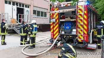 Calw: Brand auf KSK-Gelände ruft drei Abteilungen auf den Plan
