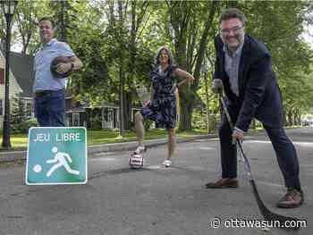 Pilot project will open some Gatineau streets to kids' free play - Ottawa Sun