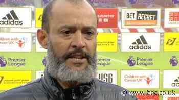 Sheffield United 1-0 Wolves: Wolves need to bounce back from late defeat - Nuno