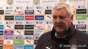 Man City 5-0 Newcastle: Man City were far too good for Newcastle - Steve Bruce