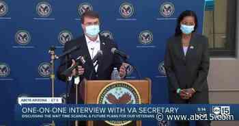 Exclusive one-on-one with US Secretary of Veterans Affairs, Robert Wilkie - ABC15 Arizona