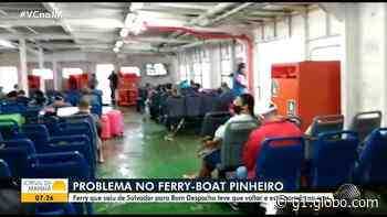 Ferry-boat apresenta defeito no mar e retorna para terminal em Salvador: 'Complicado', diz passageiro - G1