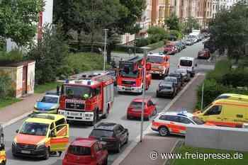 Feuerwehr-Einsatz sorgt in Plauen für Aufsehen - Freie Presse