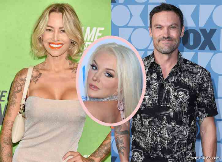 Courtney Stodden Gets Shady As 'F**k Boy' Brian Austin Green Appears To Choose Tina Louise!