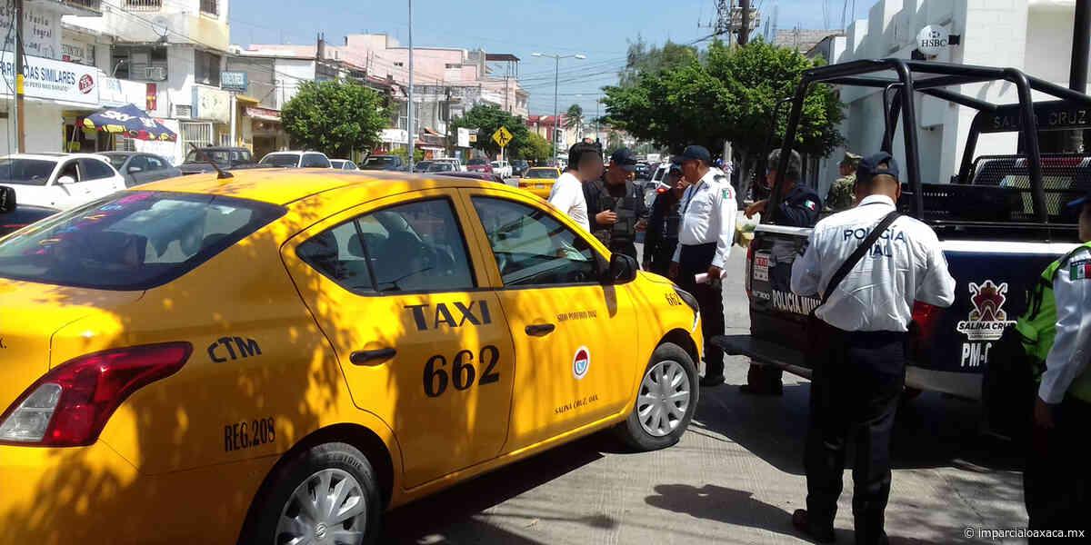 Taxis irregulares involucrados en robos en Salina Cruz - El Imparcial de Oaxaca