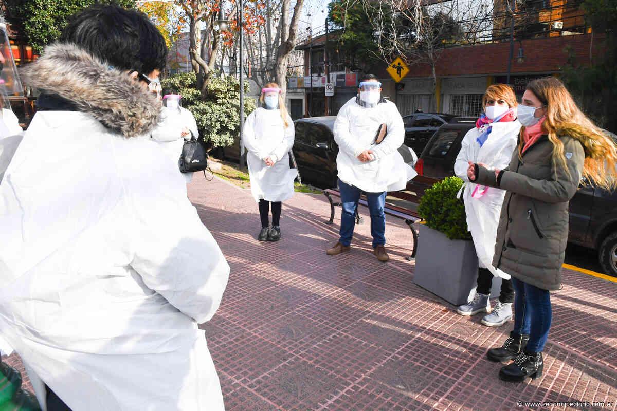 """San Fernando inició el """"Operativo Prevenir"""" para reforzar los cuidados de los vecinos casa por casa - Zona Norte Diario OnLine"""
